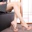 รองเท้าส้นสูงแบบสวมสีดำ/ชมพู ไซต์ 34-39 thumbnail 7