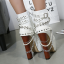 รองเท้าบูท ไซต์ 34-40 สีขาว/ดำ thumbnail 4