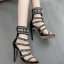 รองเท้าส้นสูงสีดำ/ครีมไซต์ 35-40 thumbnail 3