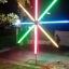 ไฟงานวัด LED สีฟ้า (ไฟนิ่งไม่กระพริบ), หลอด T8 สี thumbnail 9