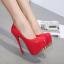 รองเท้าส้นสูง ไซต์ 34-40 สีแดง,ดำ,ขาว thumbnail 3