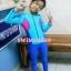 bodysuitกันยูวี สีชมพู-น้ำเงิน-ฟ้า thumbnail 6