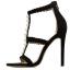 รองเท้าส้นสูงสายถักเปียสีดำ/แอพพริคอท ไซต์ 35-40 thumbnail 9