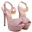 รองเท้าส้นสูงสีชมพู/เทา ไซต์ 34-39 thumbnail 9