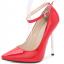 รองเท้าส้นสูงปลายแหลม 5.2 นิ้ว สีดำ/แดง/เงิน/ทอง/น้ำเงิน ไซต์ 35-43 thumbnail 17