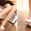 รองเท้าส้นสูงสีขาว/ดำ ไซต์ 34-39 thumbnail 5