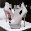 รองเท้าส้นสูง ไซต์ 34-39 สีดำ สีขาว สีเงิน สีเทา thumbnail 11