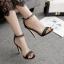 รองเท้าส้นสูงแบบเรียบแต่สวยหรูสีดำ ไซต์ 35-40 thumbnail 1