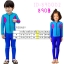 bodysuitกันยูวี สีชมพู-น้ำเงิน-ฟ้า thumbnail 2