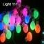 ไฟปิงปอง 20 led สีรวมcl-033 thumbnail 1