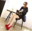 รองเท้าส้นสูงสีแดง/ดำ ไซต์ 34-39 thumbnail 11