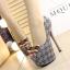 รองเท้าส้นสูงสีน้ำตาล/ดำ/เทา ไซต์ 34-38 thumbnail 3