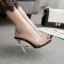 รองเท้าส้นสูงแบบหรูสีดำ/ขาว ไซต์ 35-40 thumbnail 2