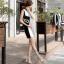 รองเท้าส้นสูงแต่งคริสตัลดูสวยหรู สีพื้นดำ/ขาว/นู๊ด ไซต์ 34-43 thumbnail 8
