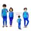 bodysuitกันยูวี สีชมพู-น้ำเงิน-ฟ้า thumbnail 1