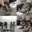 รองเท้าส้นสูงสีเขียว/ดำ ไซต์ 35-40 thumbnail 1