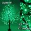ไฟต้นไม้ ซากุระ 1.5 m 480 led สีเขียว thumbnail 1