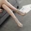 รองเท้าส้นสูงสีเงินประดับคลิสตัล ไซต์ 35-40 thumbnail 4