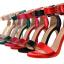 รองเท้าส้นสูง ไซต์ 34-39 แดงเข้ม/ดำ/เขียว/ชมพูเข้ม/ชมพูอ่อน/ขาว/เงิน/แดงส้ม thumbnail 11