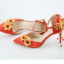 รองเท้าเจ้าสาวสีแดงปลายแหลม ไซต์ 34-38 thumbnail 2