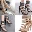 รองเท้าส้นสูงสีดำ/ครีมไซต์ 35-40 thumbnail 1