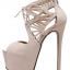 รองเท้าส้นสูง ไซต์ 35-40 สีดำ สีครีม thumbnail 8