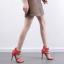 รองเท้าส้นสูงสายตอกหมุดสีแดง/ดำ ไซต์ 35-40 thumbnail 5