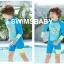 ชุดว่ายน้ำกันยูวี เด็กชาย ขาสั้น thumbnail 3