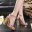 รองเท้าส้นสูงส้นหนาสีดำ/ทอง ไซต์ 34-40 thumbnail 2