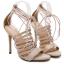 รองเท้าส้นสูงสีครีม/ดำ ไซต์ 35-40 thumbnail 8