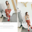 รองเท้าส้นสูงผ้าไหมเทียมสวยหรูสีม่วง/ฟ้า/แดง/ดำ ไซต์ 34-43 thumbnail 6