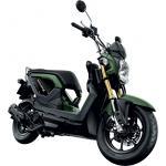 ชุดสี Zoomer-X สีเขียว-ดำ 12 ชิ้น