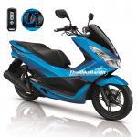 All New PCX150i ปี 2016 สีน้ำเงิน Smart Key