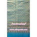 ผ้าพิมพ์ลายไทย P1 สีฟ้า (ความยาว 3.5 เมตร) *รายละเอียดตามหน้าสินค้า
