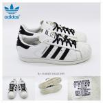 adidas superstar deluxe ขาว-ดำ Limited starking