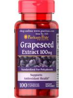 Puritan's Pride Grapeseed Extract 100mg. 100 capsules สารสกัดจากเมล็ดองุ่น ลดฝ้ากระ ผิวขาวกระจ่างใส