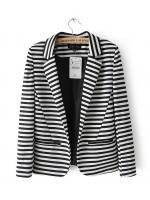 [พร้อมส่ง] STW0012 Suit Blazer Striped