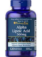 Alpha Lipoic Acid 300 mg 120 Softgel. ALA ชะลอวัย ต้านอนุมูลอิสระ เร่งขาวเมื่อทานคู่กลูต้า