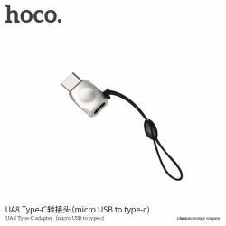 HOCO UA8 หัวแปลง Adapter Type-C To Micro USB แท้