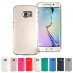 Samsung S6 Edge Plus - เคส TPU i-Jelly Metal Case by GOOSPERY (Mercury) แท้