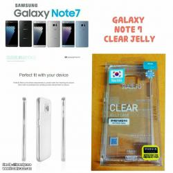 Samsung Note7 / Note FE - เคสใส TPU Clear Mercury Jelly Case แท้