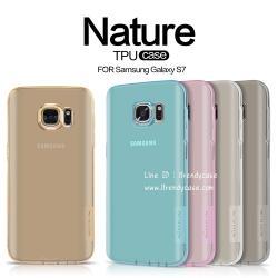 Samsung S7 - เคสใส Nillkin Nature TPU CASE สุดบาง แท้