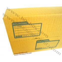 กล่องพัสดุฝาชน size F (30*45*20ซม)
