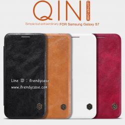 Samsung S7 - เคสฝาพับ หนัง Nillkin QIN Leather Case แท้