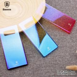 Samsung Note8 - เคสแข็งปิดขอบ Colorful Glaze Case Baseus แท้