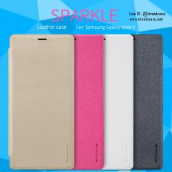 Samsung Note9 - เคสฝาพับ Nillkin Sparkle leather case แท้
