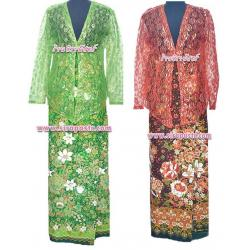 ตัวอย่าง ชุดมาเลเซีย/ภาคใต้ 4-2A (ผ้าถุงฯเอวใส่ได้ถึง 35 นิ้ว/37 นิ้ว ตามรายละเอียดสินค้าในหน้าฯ)