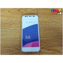 Samsung S8 - เคสใส ประกบ TPU