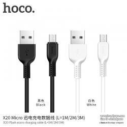 HOCO X20 สายชาร์จ Desert Came Data Cable 300cm (Android / Micro USB) แท้
