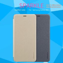 Samsung A6 Plus 2018 - เคสฝาพับ Nillkin Sparkle leather case แท้